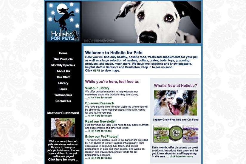 Holistic For Pets